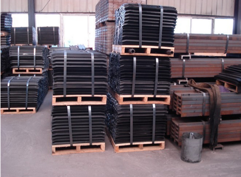 Excavator Track Shoes Pitch Length 190