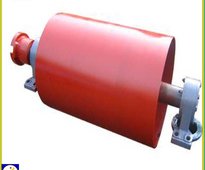 Head pulley, drive pulley and drum pulley for handling machine
