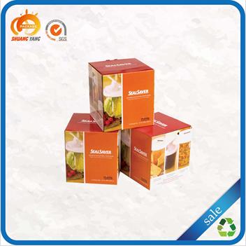 Matte custom logo wholesale custom cardboard package design box