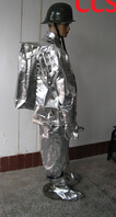 Factory produces CCS certified Solas aluminized protective fireman suit