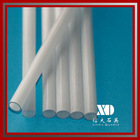 high temperature resistance clear milky quartz glass tube