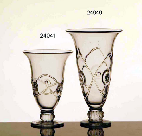 Glass Vases (A:24040/B:24041)