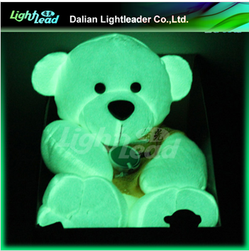 Night glow kids play toys/stuffed bear glow toys