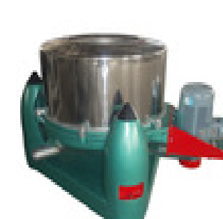 SS manual top discharge filter centrifuge separator