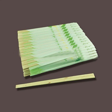 disposable half paper sealed wooden chopsticks