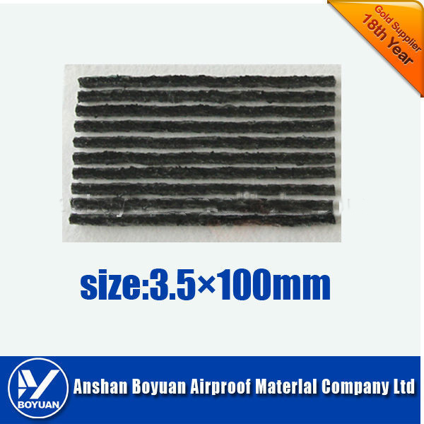 100*3.5mm Tire repair string tire seal black