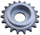 Slof Gold ASA standard driven chain idler sprocket/bearing bore sprocket