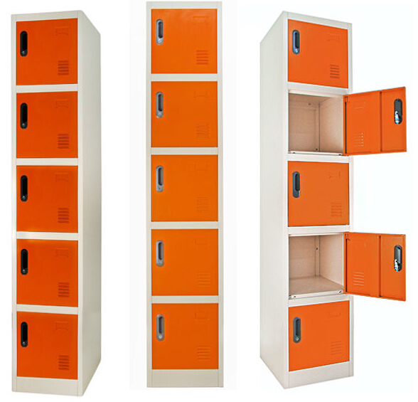 Contemporary Metal Office Steel Storage Cabinet