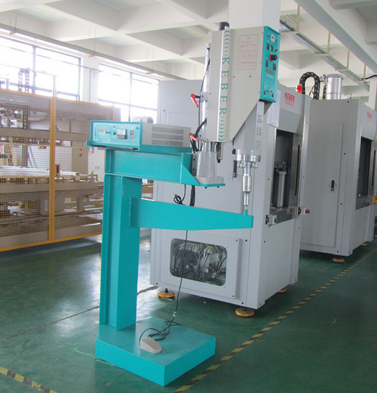 Turnover container welding machine