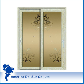 Doors and windows aluminium profile for glass doors