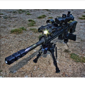 Military Tactical Rifle Picatinny Rail Green Laser Light Combo Sight