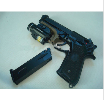 RAIL-MOUNTED WEAPONLIGHT GREEN LASER SIGHT COMBO
