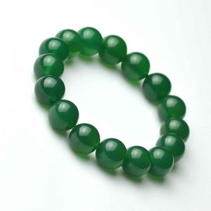 Twisted Green Carnelian Loose Beads