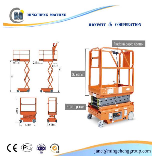 aerial access work platform