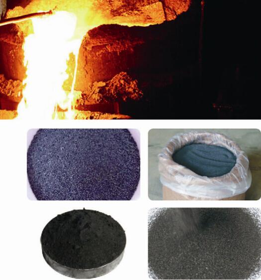 High titanium slag