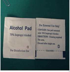 alcohol swabs for medical use