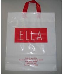 HDPE plastic shopping bag