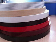 2/20 mm high glossy black pvc edge banding/ high resistence