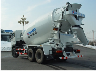 Concrete Truck Mixer with Faw Chassis