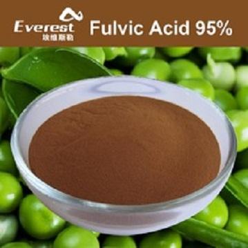 Bio Fulvic Acid 95 precent Powder For Foliar Fertilizer