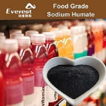 99 precent Purity Food Grade Sodium Humate Shiny Powder