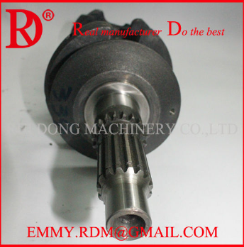 Manufacturer Of Yanmar Casting Iron 4TNV94 Crankshaft