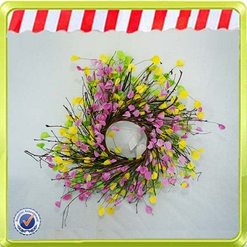 Wooden large handmade easter decoration flower