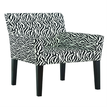 Leopard print color dining chair