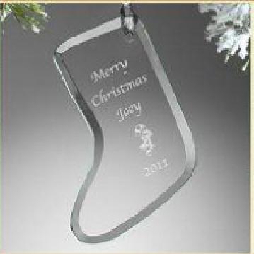 Flat glass craft glass ornaments