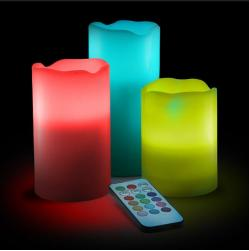 Wholesale Magic Color Changing Led Wax Candle