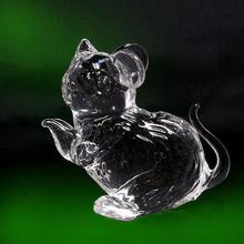 crystal animal cat