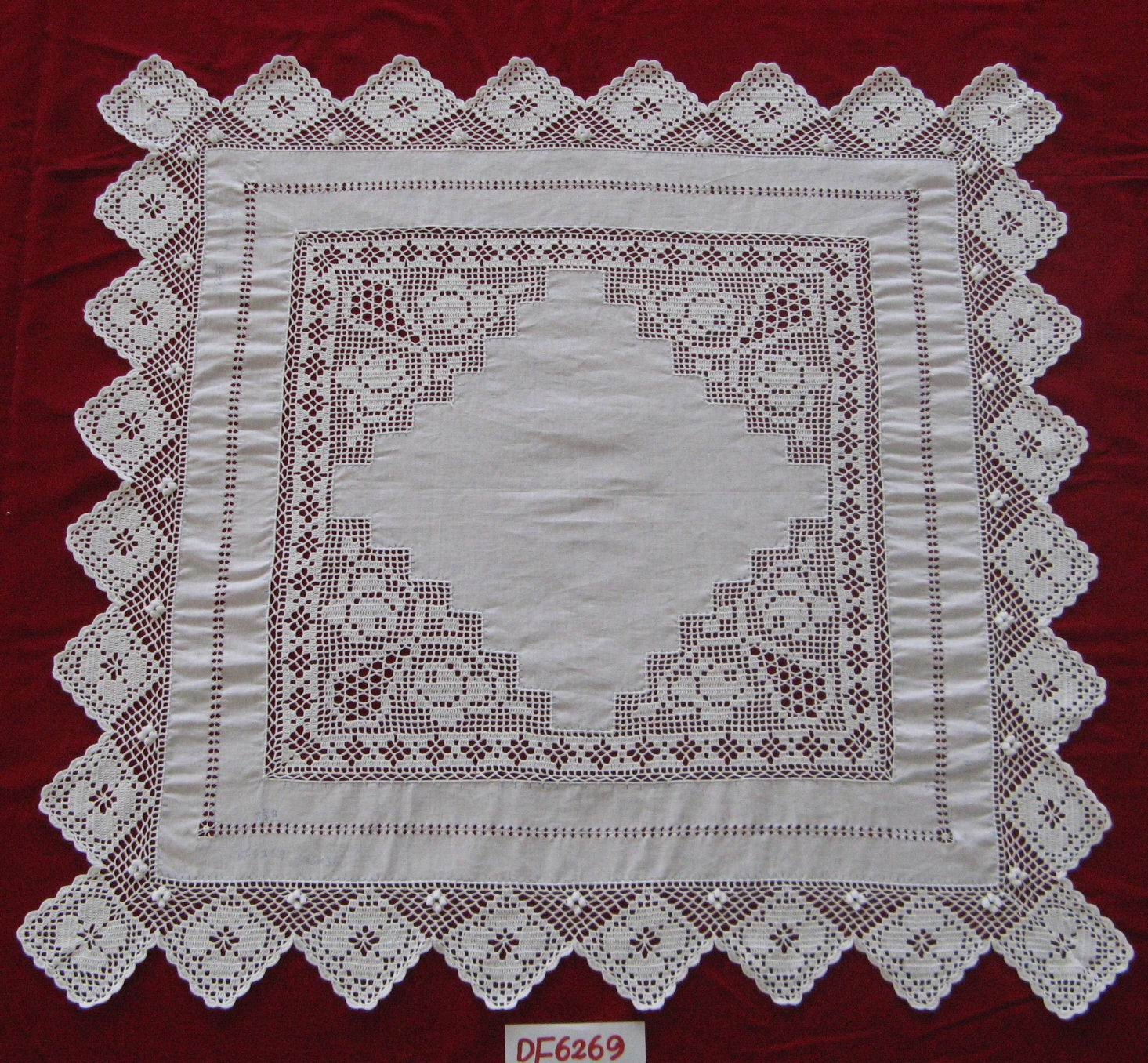 high quality crochet tablecloth