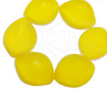 Soft gummy lemon fruit sweet jelly