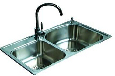 cheap stainless steel sink double bowl