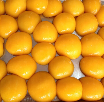 Canned Yellow Peach in Tin/Can, Light Syrup