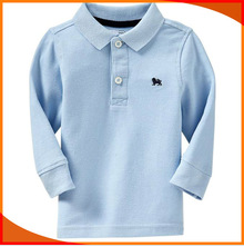 2014 new design baby clothing kids polo shirt