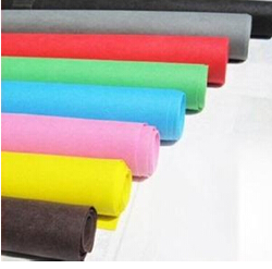 colored felt needle punched nonwoven fabric