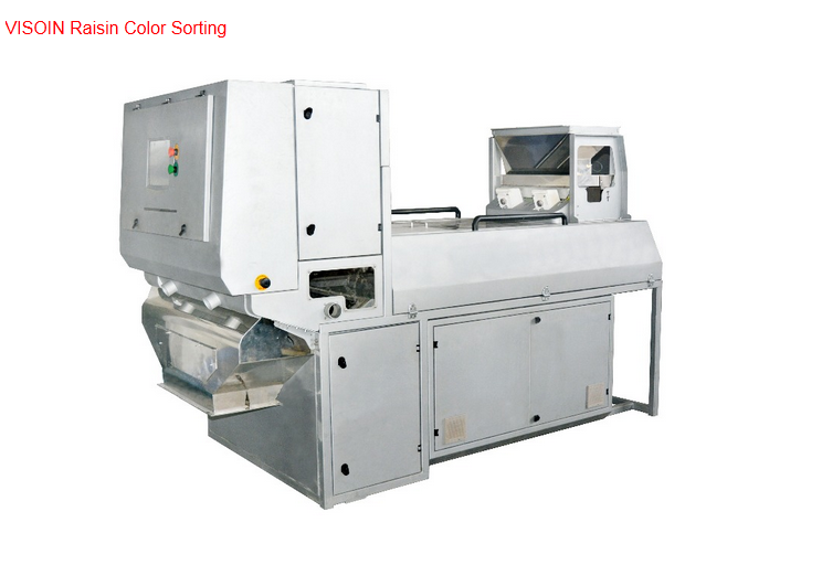 Vison New Product Newest Design belt type sorter dried fruit raisin color sorting machine