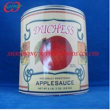 Sliced apple solid pack apple 6Tin/3kg