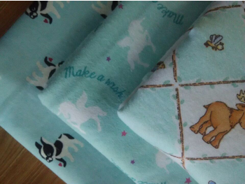 SLEEPWEAR FABRIC 100% Cotton flannel fabric