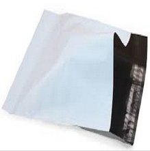 Self adhensive grey recycle plastic colored mailing bags