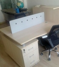 Melamine desk top , mdf board