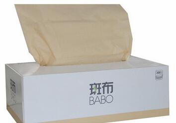 100% Virgin bamboo virgin facial tissue box
