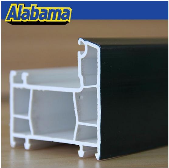 Alabama Qingdao upvc profile double insulating glasses hot design