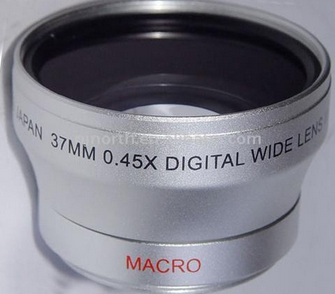 For 37mm 0.45X UV46mm Wide angle lens for tablet personal computer