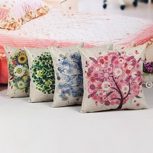 latest design cushion cover wholesale linen cushion cover