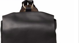 genuine leather backpack for college
