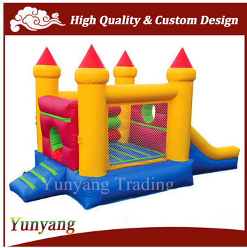 Factory price inflatable castle with slide for kids, Inflatable bouncing castle