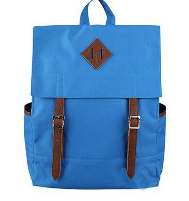 Factory Direct Sale Custom Mens Washed Vintage Canvas Backpack