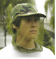 fishing cap with mesh nylon mesh net with cap